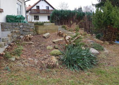 Anlage eines Hausgartens