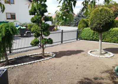 Neugestaltung eines Vorgartens