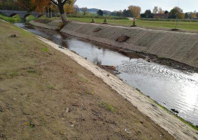 Uferbefestigung am Schöps